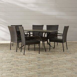 Brayden Studio Lawhon 7 Piece Dining Set