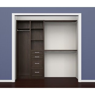 "SpaceCreations 52"" W - 87"" W Closet System"