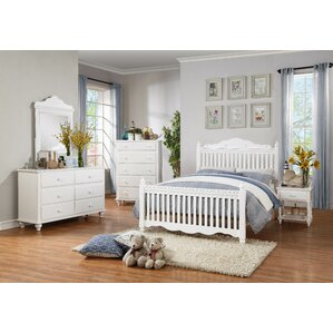 Emmaline Twin Panel Configurable Bedroom Set by Woodhaven Hill