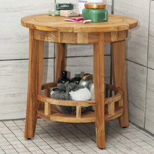 Worceer Teak Round Side Table
