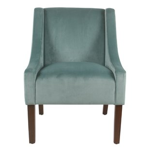 Lacrescenta Swoop Armchair by Gracie Oaks