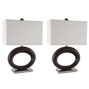 Oval Ring 24 Table Lamp (Set Of 2) by Sintechno Today Sale Only