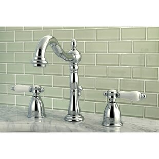 Bel Air Widespread Bathroom Faucet with Drain Assembly By Kingston Brass