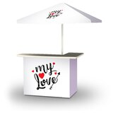 Xavieyah Valentines My Love 2-Piece Home Bar Set