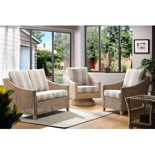 Carly 4 Piece Conservatory Sofa Set By Beachcrest Home