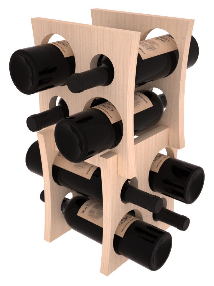 Winston Porter Sutton 8 Bottle Tabletop Wine Bottle Rack Wayfair Ca