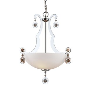 House of Hampton Kirkbride 3-Light Bowl Pendant