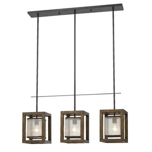 Loon Peak Bundoran 3-Light Kitchen Island Pendant