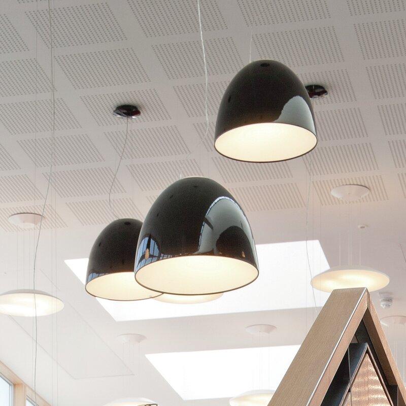 Artemide Nur 1 Light Single Dome Pendant Wayfair