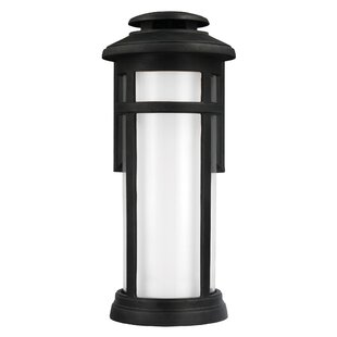 Ginger 1-Light Outdoor Flush Mount By Latitude Run Outdoor Lighting