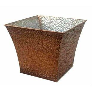 Inexpensive Square Metal Basket ByBloomsbury Market
