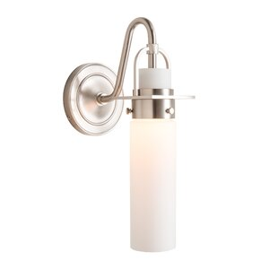 Castleton Cylinder 1-Light Bath Sconce by Hubbardton Forge