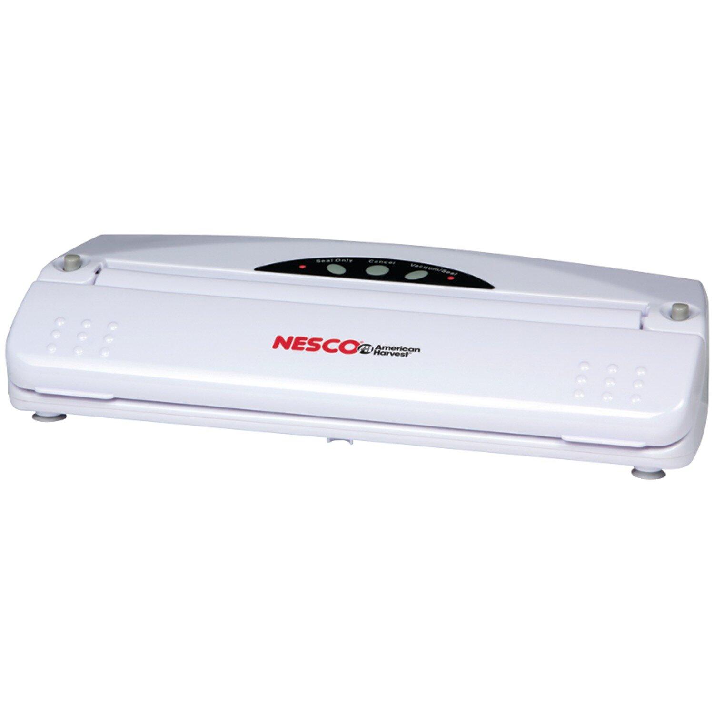 ": 8/"" Wide Nesco Vacuum Sealer Bags 20/' Long 2 Rolls"