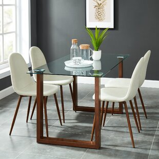 Peggie Contemporary 5 Piece Dining Set by Wrought Studio