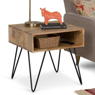 Claudia End Table with Storage