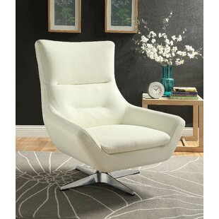 Boerger Swivel Armchair by Ivy Bronx