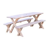 Zirkel Solid Wood Picnic Table
