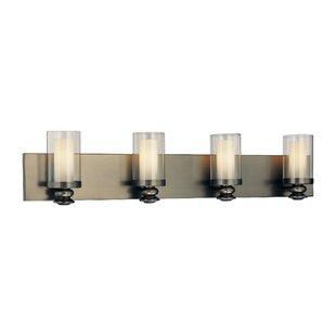 Williston Forge Anissa 4-Light Vanity Light