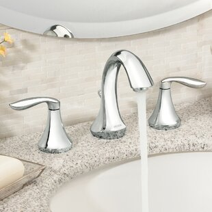 Eva Widespread Bathroom Faucet By Moen