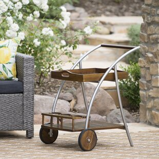 Elegant Ayala Outdoor Bar Cart