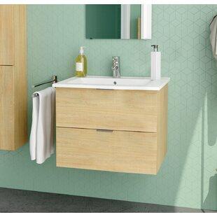 Glausen 810mm Wall Hung Single Vanity By Belfry Bathroom