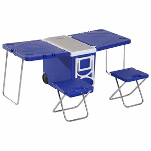 Marciano Folding Plastic Camping Table By Sol 72 Outdoor