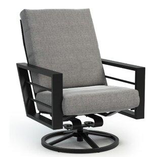 Cool Sunbrella Patio Swivel Chair Wayfair Inzonedesignstudio Interior Chair Design Inzonedesignstudiocom