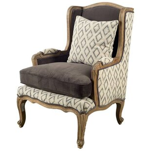 Orleans Wingback Chair by Bungalow Rose