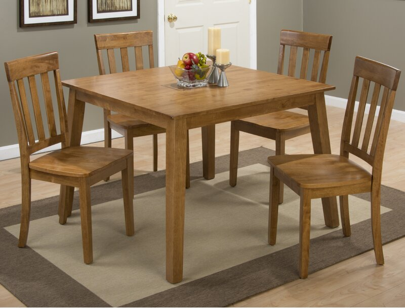 Alcott Hill Antrim Solid Wood Slat Back Side Chair Reviews