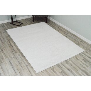 Shop for Rauch Shaggy White Area Rug By Bloomsbury Market