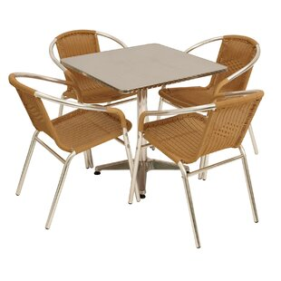 Weimar 4 Seater Dining Set Image