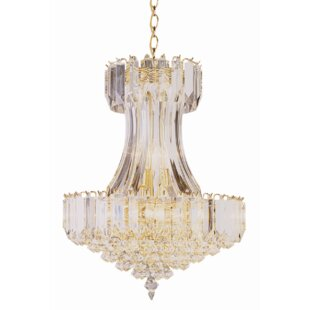 Engelman 8-Light Empire Chandelier by Mercer41