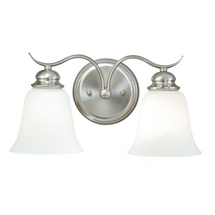 Ebern Designs Nicholas 2-Light Vanity Light