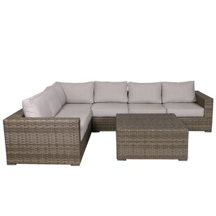 Kaiser 5 Piece Sectional Set With Cushions by Brayden Studio Best #1