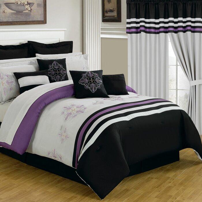 Rachel 24 Piece Bed In A Bag Set