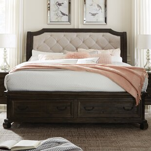 Greyleigh Amoret Upholstered Storage Panel Bed