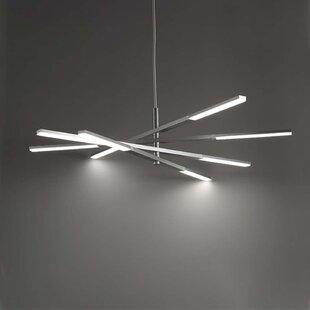 Modern Forms Stacked 8-Light LED Chandelier