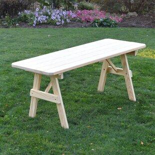 Varick Wooden Picnic Bench