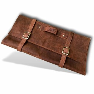 Handmade Leather Knife Roll By Kauri