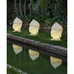White Sidibe Outdoor Floor Lamp By Sol 72 Outdoor