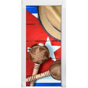 Cuba Still Life Door Sticker By East Urban Home