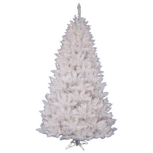 03690cda136 White Spruce 4.5  Artificial Christmas Tree with 180 LED White Lights