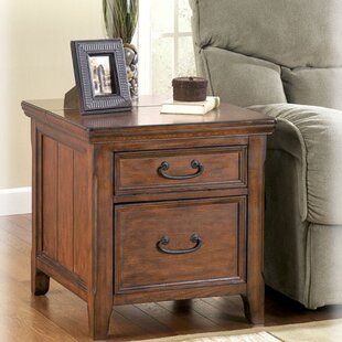 Mathis End Table With Storage Darby Home Co