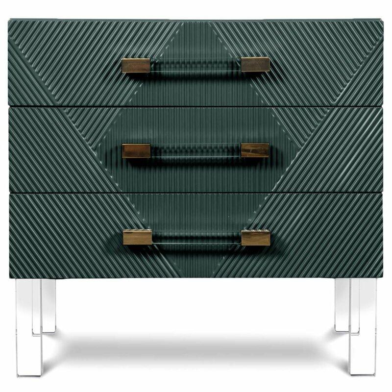 Modshop Milan End Table With Storage Wayfair