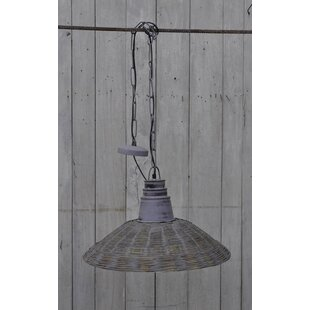 17 Stories Doucet 1-Light Cone Pendant