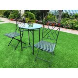 Abrahams 3 Piece Bistro Set