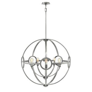 Propes 5-Light Candle-Style Chandelier