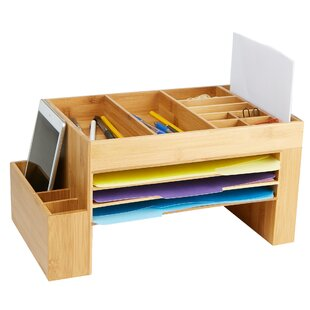 16 Compartment Desk File Organizer by Mind Reader