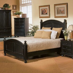 Marhill Panel Bed by Beachcrest Home