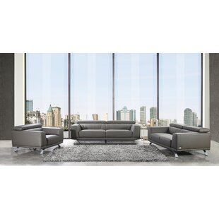 Wade Logan Penny 3 Piece Living Room Set
